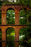 Aqueduto histórico foto de stock