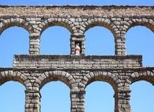 Aqueduto romano Fotografia de Stock