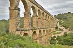 Aqueduto romano em Tarragona Fotografia de Stock