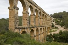 Aqueduto romano em Tarragona Imagem de Stock Royalty Free