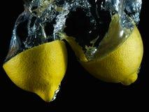 Aqueous lemon VI Stock Photography