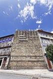 Aqui Nasceu Portugal, Guimaraes, Portugal Imagem de Stock