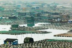 Aquiculture marine Images libres de droits