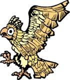 Aquila azteca Fotografia Stock Libera da Diritti