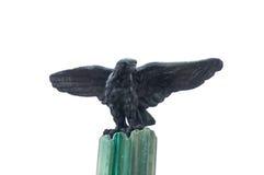 Aquila del ferro al cimitero Fotografia Stock Libera da Diritti