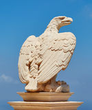 Aquila del monumento, tempio di Bahai, Israele Fotografia Stock