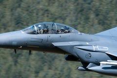Aquila di colpo di F-15E Fotografia Stock