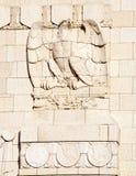 Aquila (particolare di architettura) fotografia stock libera da diritti