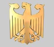 Aquila tedesca dorata Immagini Stock Libere da Diritti