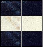 Aquila-und Widderkonstellationen Stockfotos