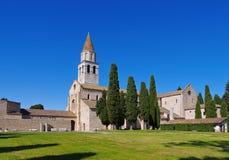 Aquileia στην παλαιά βασιλική της Ιταλίας Στοκ Εικόνες