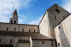 Aquileia-Basilika Stockfoto