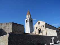 Aquileia Cathedral (Basilica) Royalty Free Stock Photo