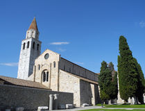 Aquileia Cathedral (Basilica) Stock Images