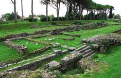 Aquileia Fluvial port Obraz Royalty Free