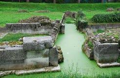 Aquileia Fluvial port 7 Obrazy Stock
