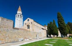 Aquileia Friuli Venezia Giulia region, Italien Arkivbilder