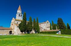 Aquileia Italien: Forntida romersk stad av Aquileia Arkivfoton