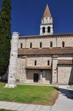 Aquileia, Italy. The basilica. Stock Photos
