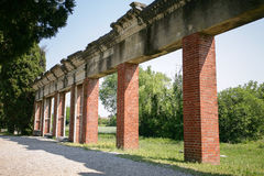 Aquileia, Italy. Harbor ruins in the ancient city of Aquileia, Italy Stock Photos