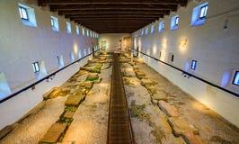 Aquileia Nationaal Archeologisch Museum, Aquileia stock fotografie