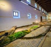 Aquileia nationellt arkeologiskt museum, Aquileia Fotografering för Bildbyråer
