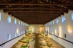 Aquileia nationellt arkeologiskt museum, Aquileia Royaltyfria Bilder