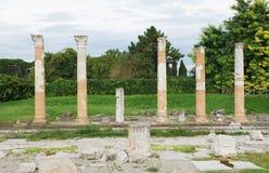 Aquileia Roman Forum Stock Image