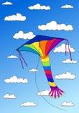 Aquilone nel cielo Illustrazione Vettoriale