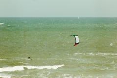 Aquilone-praticare il surfing Fotografia Stock
