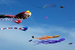 Aquiloni di volo Fotografia Stock Libera da Diritti