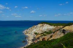 Aquinnah Cliff (Gay Head), Martha's Vineyard Royalty Free Stock Photography