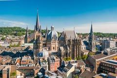 Aquisgrán, Alemania Imagen de archivo libre de regalías