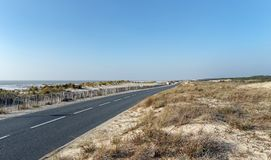 Aquitaine δυτική ακτή στοκ εικόνες