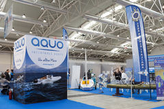 Aquo Inflatable Boats Stock Image