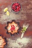 Arándanos agrios y frescos del arándano Fotos de archivo libres de regalías
