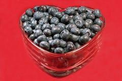 Arándanos Heart-healthy Foto de archivo libre de regalías