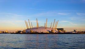 Arène 02 à Londres Photographie stock libre de droits