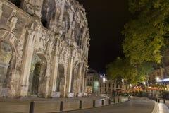 Arène à Nîmes, France Image stock