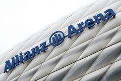 Arène d'Allianz Image libre de droits