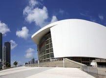 Arène d'American Airlines Maison de l'équipe de basket du Heat de Miami photo stock