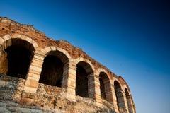 Arène d'amphithéâtre à Vérone, Italie Image stock