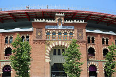 Arène de Barcelone Image libre de droits