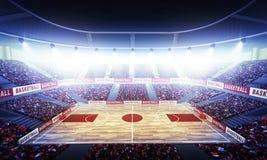 Arène de basket-ball Image libre de droits