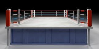 Arène de boxe Images libres de droits
