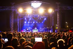 Arène de concert Photo stock