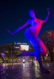 Arène de Las Vegas T-Mobile Photos libres de droits