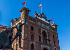 Arène de Las Ventas Photo libre de droits