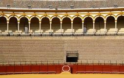 Arène de Maestranza en Séville Image libre de droits