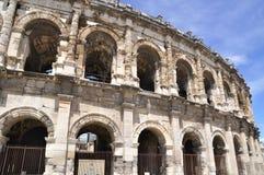 Arène de Nîmes Image libre de droits